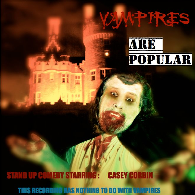 "CD Review: Casey Corbin – ""Vampires Are Popular"""