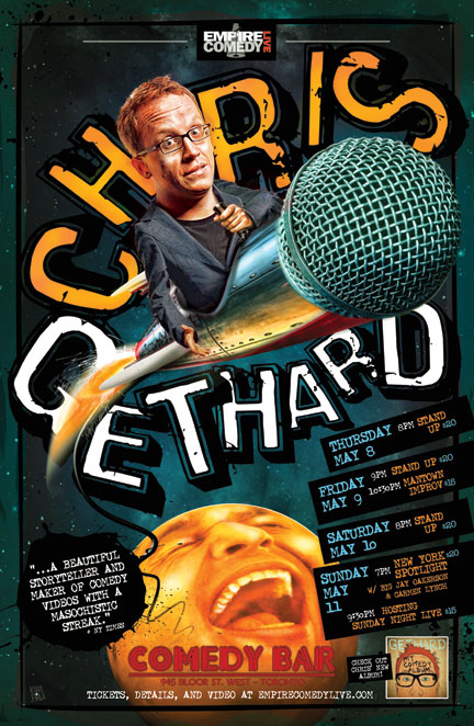 NYC Talent in Toronto all weekend long! Featuring Big Jay Oakerson, Carmen Lynch, & Chris Gethard
