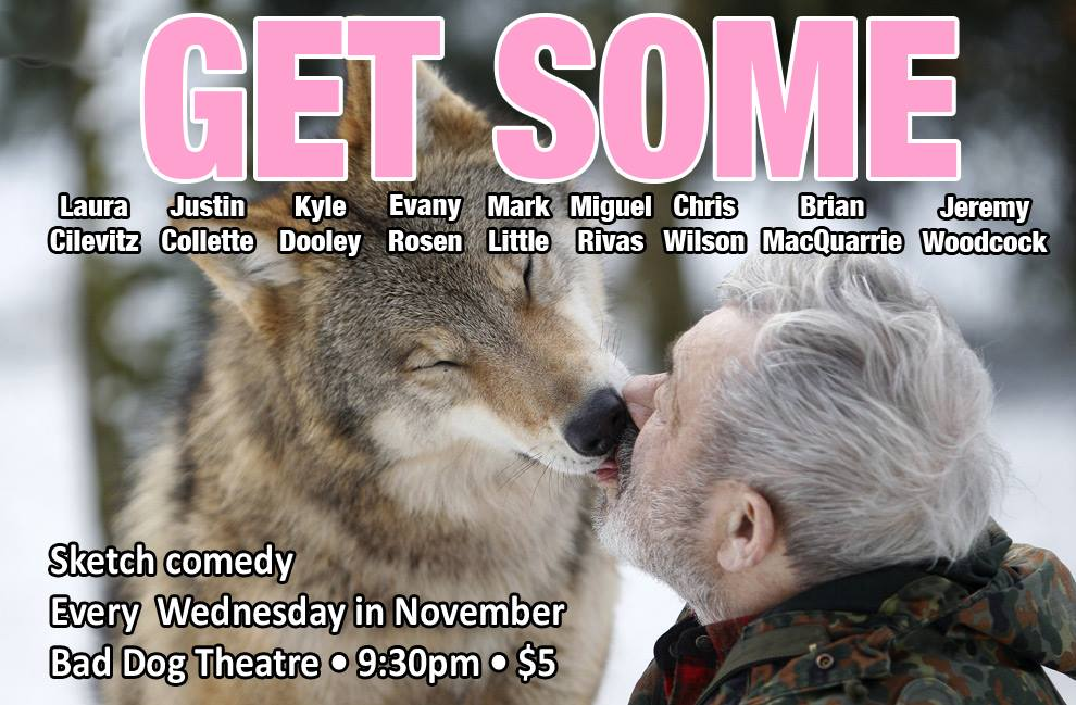 """Get Some"": A Month of Sketch Shows Featuring some of Toronto's Illustrious Comedians"