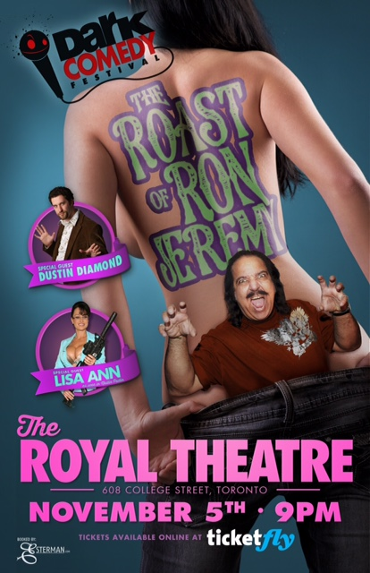 "Our Q&A with Two Writers of the ""Ron Jeremy Roast"""