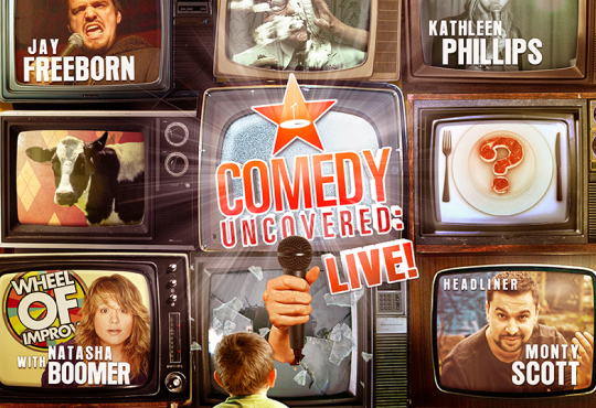 Our Next Comedy Uncovered:Live is Saturday, February 7, 9pm! Headlined by Monty Scott!