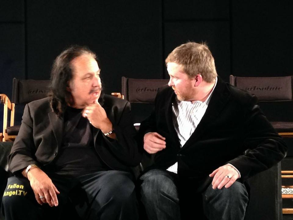 At the Roast with Ron Jeremy