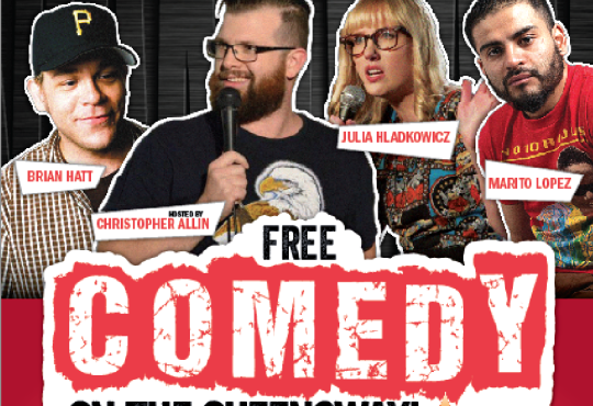 Comedy Uncovered Comes to Biermarkt ETOBICOKE! Sunday, May 31 @ 9pm