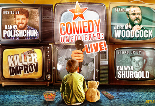 Our Next Comedy Uncovered:Live is Saturday, July 11, 9pm! It's the WHAM-BAM SHOWCASE Show!