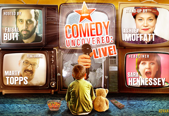 Comedy Uncovered: Live Headlined by Sara Hennessey! This Saturday, August 8 @ 9pm at Comedy Bar!