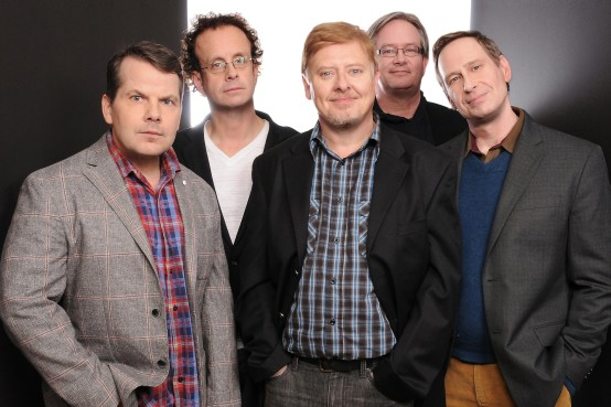 The Kids in the Hall (from left): Bruce McCulloch, Kevin McDonald, Dave Foley, Mark McKinney, and Scott Thompson.