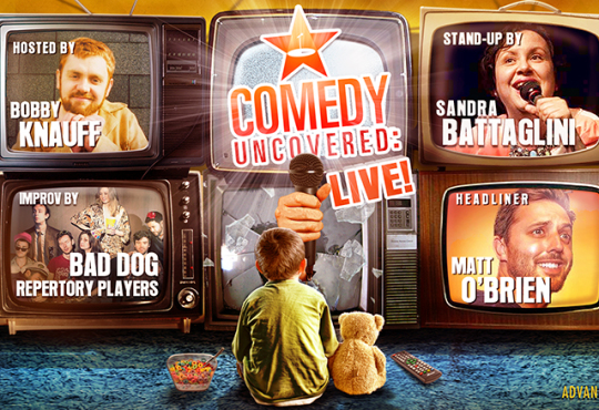 Comedy Uncovered: Live! Headlined by Matt O'Brien @ Comedy Bar!